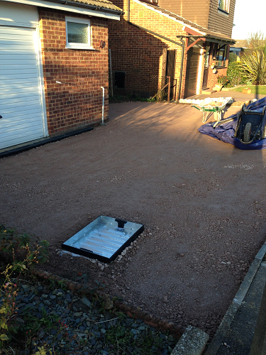 Blocked Paved Drive Strood Medway