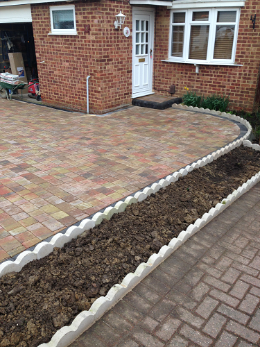 Blocked Paved Driveway Strood Kent